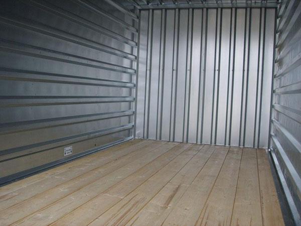 Box plancher bois